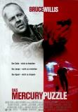 MERCURY PUZZLE, DAS - 1998 - Filmplakat - Bruce Willis - Alec Baldwin - Poster