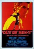 OUT OF SIGHT - 1998 - Filmplakat - George Clooney - Jennifer Lopez - Poster