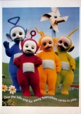 TELETUBBIES - Laa-Laa - Dipsy - Tinky-Winky - Po - Over the Hills - Poster