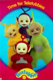 TELETUBBIES - Laa-Laa - Dipsy - Tinky-Winky - Po - Time for... - Poster