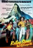 ROLLING STONES - 1976-06-19 - Plakat - European Tour - Poster - Stuttgart - Berg