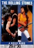 ROLLING STONES - 1982-06-29 - Plakat - European Tour - Poster - Frankfurt