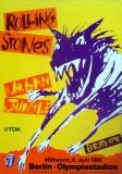 ROLLING STONES - 1990-06-06 -  Plakat - Urban Jungle - Poster - Berlin (H)