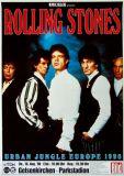 ROLLING STONES - 1990-08-16 - Plakat - Urban Jungle - Poster - Gelsenkirchen (G)