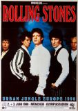 ROLLING STONES - 1990-06-02 - Plakat - Urban Jungle - Poster - München (G)