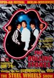 ROLLING STONES - 1990-08-13 - Plakat - Steel Wheels - Poster - Berlin (G2)