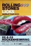 ROLLING STONES - 2003-06-22 - Plakat - Licks - Poster - Hockenheim