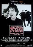 ROLLING STONES - 1998-08-30 - Plakat - Bridges to - Poster - Hamburg (G)