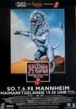 ROLLING STONES - 1998-06-07 - Plakat - Bridges to - Poster - Mannheim (L)