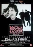 ROLLING STONES - 1998-08-26 - Plakat - Bridges to - Poster - Berlin (G)