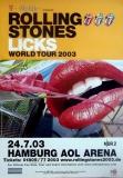 ROLLING STONES - 2003-07-24 - Plakat - Licks - Poster - Hamburg
