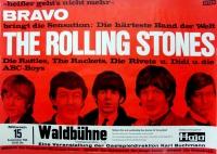 ROLLING STONES - 1965-09-15 - Konzerplakat - The Rattles - Poster - Berlin
