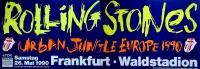 ROLLING STONES - 1990-05-26 - Plakat - Urban Jungle - Poster - Frankfurt (2T)