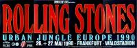 ROLLING STONES - 1990-05-27 - Plakat - Urban Jungle - Poster - Frankfurt (4T)