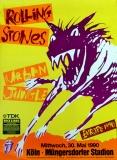 ROLLING STONES - 1990-05-30 - Plakat - Urban Jungle - Poster - Köln (H)