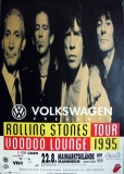 ROLLING STONES - 1995-08-22 - Plakat - Voodoo Lounge - Poster - Mannheim
