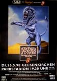 ROLLING STONES - 1998-05-26 - Plakat - Bridges to - Poster - Gelsenkirchen (L)