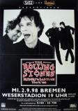 ROLLING STONES - 1998-09-02 - Plakat - Bridges to - Poster - Bremen (G)