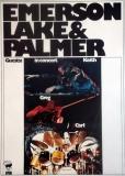 EMERSON LAKE & PALMER - 1973 - Plakat - Günther Kieser - Poster - A