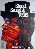 BLOOD SWEAT & TEARS - 1974 - Plakat - Günther Kieser - Poster