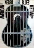 AMERICAN NEGRO BLUES - 1970 - Plakat - Günther Kieser - Poster