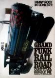 GRAND FUNK RAILROAD - 1971 - Plakat - Humble Pie - Günther - Kieser - Poster