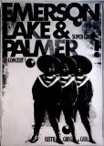 EMERSON LAKE & PALMER - 1971 - Plakat - Günther Kieser - Poster
