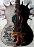 AMERICAN FOLK & BLUES - 1972 - Plakat - Günther Kieser - Poster -