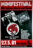 FESTIVAL DER JUGEND - 1981 - Plakat - Franz K - Cats - Poster - Dortmund