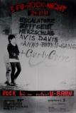 FU ROCK NIGHT 3. - 1981 - Plakat - Zeitgeist - Avis Davis - Poster - Berlin