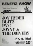 BENEFIZ SHOW - CANNABIS - 1981 - Plakat - PVC - Blitz - Poster - Berlin