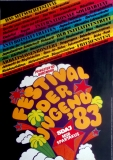 FESTIVAL DER JUGEND - 1983 - Konzertplakat - Concert - Poster - Dortmund