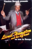 HAMPTON, LIONEL - Tourplakat - Europe - Jazz - Tourposter - Concert