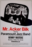 MR. ACKER BILK - 1964 - Konzertplakat - Benny Waters - Jazz