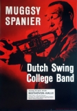 SPANIER, MUGSY - DUTCH SWING COLLEGE BAND - 1960 - Konzertplakat - Jazz