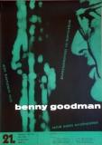 GOODMAN, BENNY - 1958 - Plakat - Günther Kieser - Poster - Essen