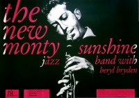 NEW MONTY SUNSHINE - 1961 - Konzertplakat - Jazz