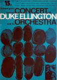 ELLINGTON, DUKE - 1959 - Konzertplakat - Jazz - Michel - Kieser