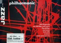 JAZZ AT THE PHILHARMONIC - 1957 - Jazz - Günther Kieser - Poster - Essen