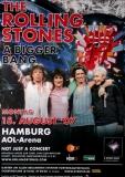 ROLLING STONES - 2007-08-15 - Plakat - Bigger Bang - Poster - Hamburg (G)