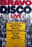 BRAVO DISCO - 1977 - Rubettes - Siw Inger - Waterloo - Poster - Ludwigshafen