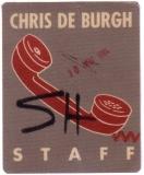 DE BURGH, CHRIS - 1984 - Pass - Staff