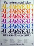 JARREAU, AL - 1980 - Plakat - Günther Kieser - Poster