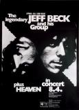 BECK, JEFF - 1972 - Plakat - Günther Kieser - Poster - Frankfurt