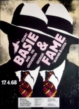 BASIE, COUNT - 1968 - Plakat - Geogie Fame - Günther Kieser - Poster - Frankfurt