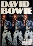 BOWIE, DAVID - 1976 - Plakat - Günther Kieser - Poster - Düsseldorf