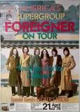 FOREIGNER - 1978 - Plakat - Günther Kieser - Luciefers Friend - Poster - Mainz