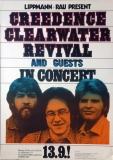 CREEDENCE CLEARWATER REVIVAL - 1971 - Plakat - Günther Kieser - Poster