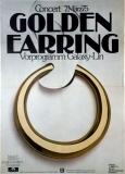 GOLDEN EARRING - 1975 - Plakat - Günther Kieser - Poster - Frankfurt