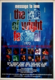 ISLE OF WIGHT 1970 - 1997 - Filmplakat - Hendrix - Doors - The Who - Poster